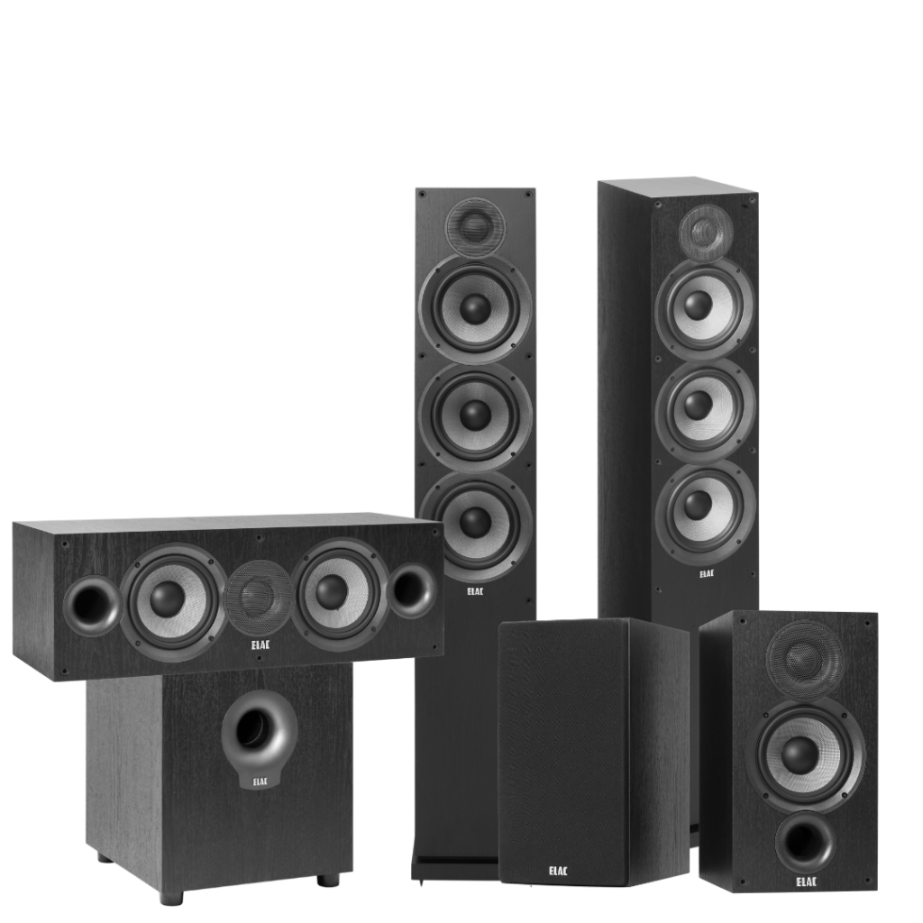 5.1 Ch Home Theater System (6