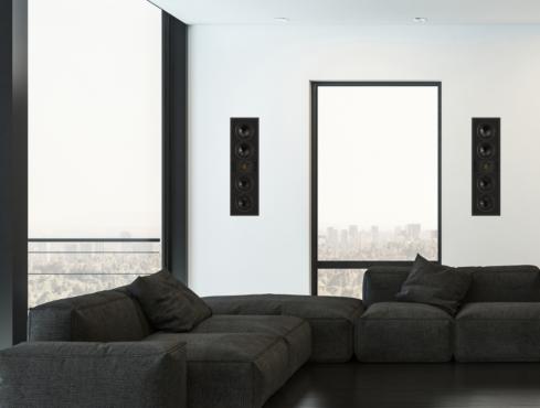 Vertex III in-wall speakers